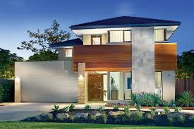 modern house plans hillside house plans