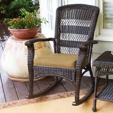 Painting Wicker Patio Furniture - tortuga outdoor portside plantation wicker rocking chair