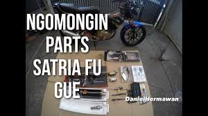 Handgrip Satria Fu jajanan parts modifikasi satria fu gue tutorial pasang handgrip