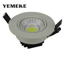 promo energy saving cob downlight dimmable 5w 10w 20w led recessed