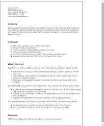 Teacher Assistant Resume Sample Skills by Professional Venture Capital Analyst Templates To Showcase Your