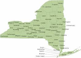 Counties In Ny State Map Std Clinics In York State