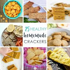 25 healthy crackers for all kid approved
