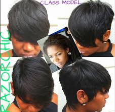 pictures of razor chic hairstyles razorchicofatlanta 8 months ago model from today s class razorchic