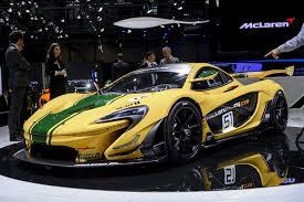 mclaren p1 crash test geneva motor show aston martin mclaren unveil track only cars