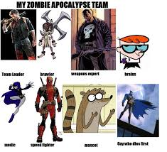 Zombie Team Meme - zombie apocalypse team meme by sekele on deviantart