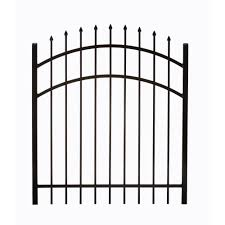 Decorative Metal Sheets Home Depot Metal Fence Gates Metal Fencing The Home Depot