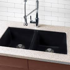 home depot black sink black undermount kitchen sink awesome highpoint collection granite