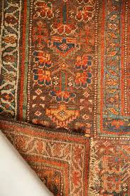 4x8 antique kurdish rug runner