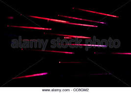 Red Colors Red Colors Optical Fibers Stock Photo Royalty Free Image