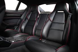 porsche hatchback interior it u0027s a wrap techart unveils tasty porsche panamera black edition