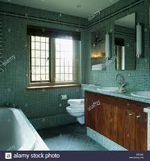 Vanity Units And Basins Tube Wall Lights And Mirrors Above Vanity Units With Double Basins