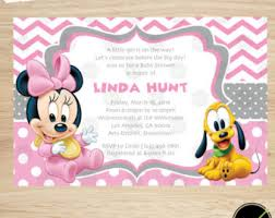 minnie mouse baby shower invitations baby minnie mouse baby shower invitations baby minnie mouse baby