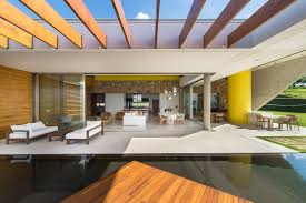 glorious modern brazilian home ready for summer parties curbed