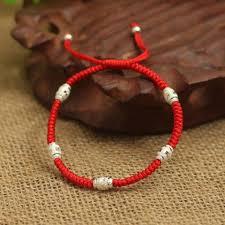shamballa bracelet handmade images 925 sterling silver lucky red rope handmade shamballa bracelet jpg