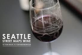 Neighborhoods Seattle Map by Seattle Maps Wine Glass Theuncommongreen