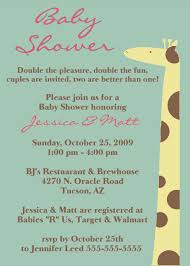 photo giraffe baby shower invitations image