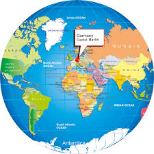 Yemen On World Map by Germany On World Map My Blog