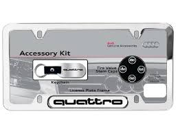 exes license plate frame audi genuine accessories