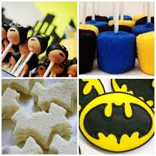 batman birthday party games decoration sweets sandwiches online