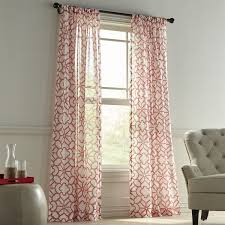 Blue And Yellow Curtains Prints Bedroom Design Fabulous Coral Colored Window Curtains White And