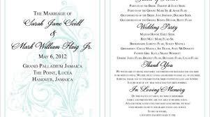 wedding programs wording 18 best photo of wedding program thank you wording ideas diy