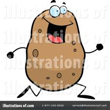 Couch Potato Clipart Potato Clipart 1084109 Illustration By Cory Thoman