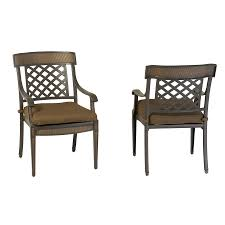 Aluminum Patio Furniture Set - shop garden treasures set of 2 herrington aluminum patio dining
