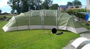 toile de tente 3 chambres au retour de vacances