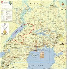 Uganda Africa Map by Profile Bunyoro Kitara Kingdom Rep Uganda The Most Powerful