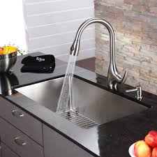 single kitchen sink faucet stainless steel kitchen sink combination kraususa com