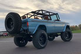 ford bronco 1966 ford bronco four door heads to sema u2013 tensema17