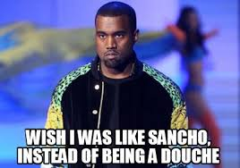Douche Meme - meme creator wish i was like sancho instead of being a douche