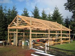 flat roof pole shed plans popular roof 2017