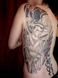 tattoo concept japanese geisha tattoos