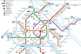 Mbta System Map by Subway Map Of Vienna My Blog