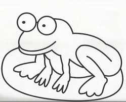 templates clipart frog pencil and in color templates clipart frog