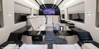 Conversion Van Interiors Becker Automotive Design Luxury Transport Coaches Sprinter
