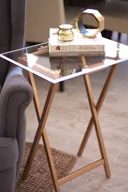Folding Tv Tray Table You Better Believe This Chic Table Is Diy To Make From Brit