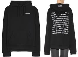 wtb vetements definition hoodie u2014 fashionmovesforward com