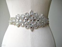 wedding dress belts online cheap shining sparkled exqusite all beaded crystals