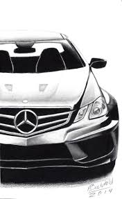 car drawing mercedes benz e63 amg w207 realistic car drawing by maxbechtold on