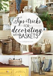 baskets for home decor tips and tricks for decorating with baskets decorating storage