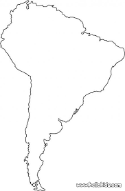outline of south america map south america coloring map coloring speaks
