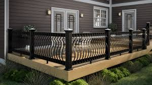 Railings And Banisters Decks Com Deck Railing Ideas