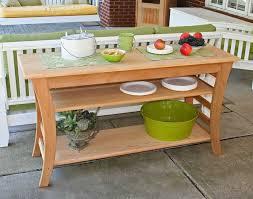 amazon com cedar entertaining buffet table 58in sideboards