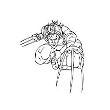 free printable coloring pages xmen coloring pages