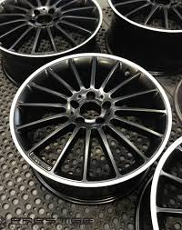 mercedes c63 amg alloys mercedes c63 amg wheels re finished refurbished turned