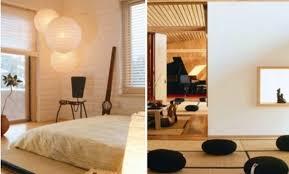 chambre style japonais deco chambre style japonais papier peint sur mesure tapisserie