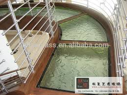 clear glass floor l price of structural glass floor tile buy glass floor tile